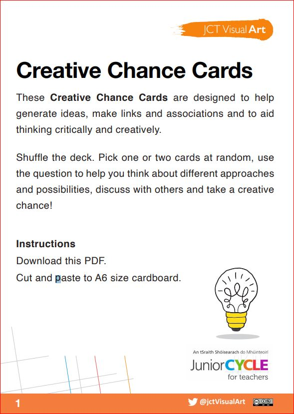 Creative Chance Cards