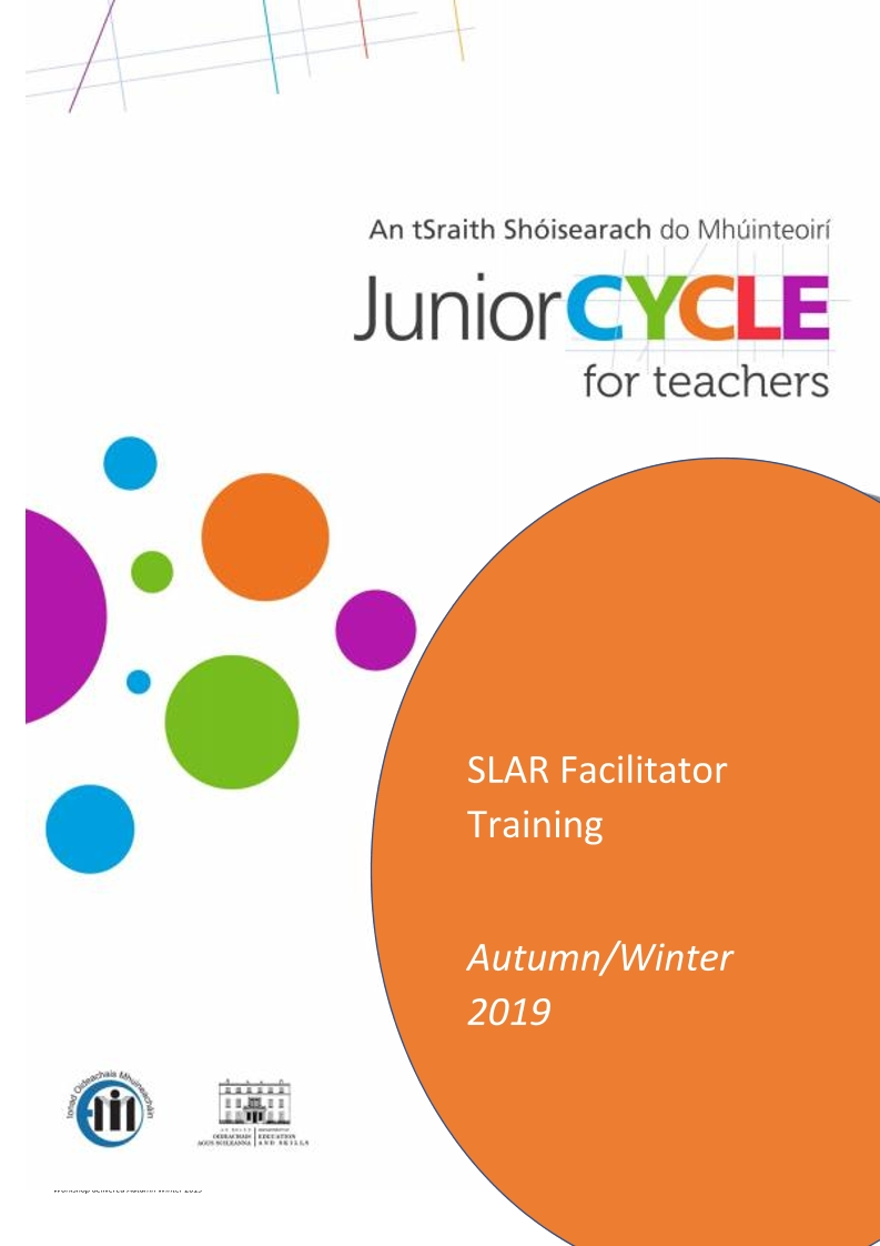 SLAR Facilitation Workshop Booklet