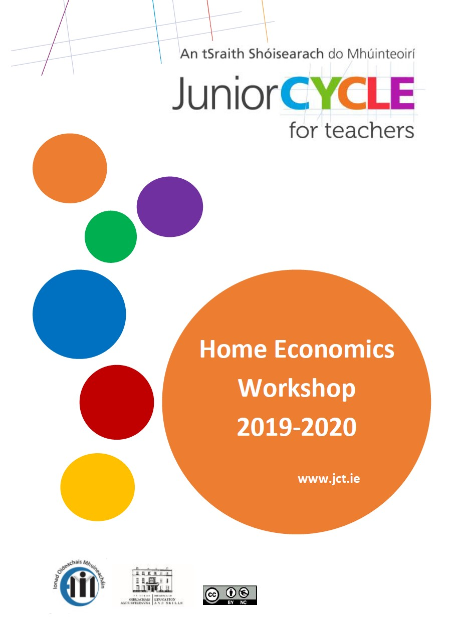 Home Economics CPD Booklet 2019-20
