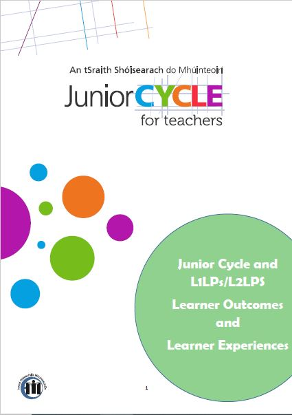 Learner Outcomes and Learner Experiences booklet