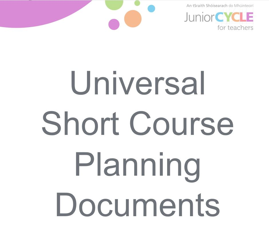 Short Course Planning Booklet
