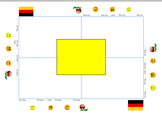 German Placemat
