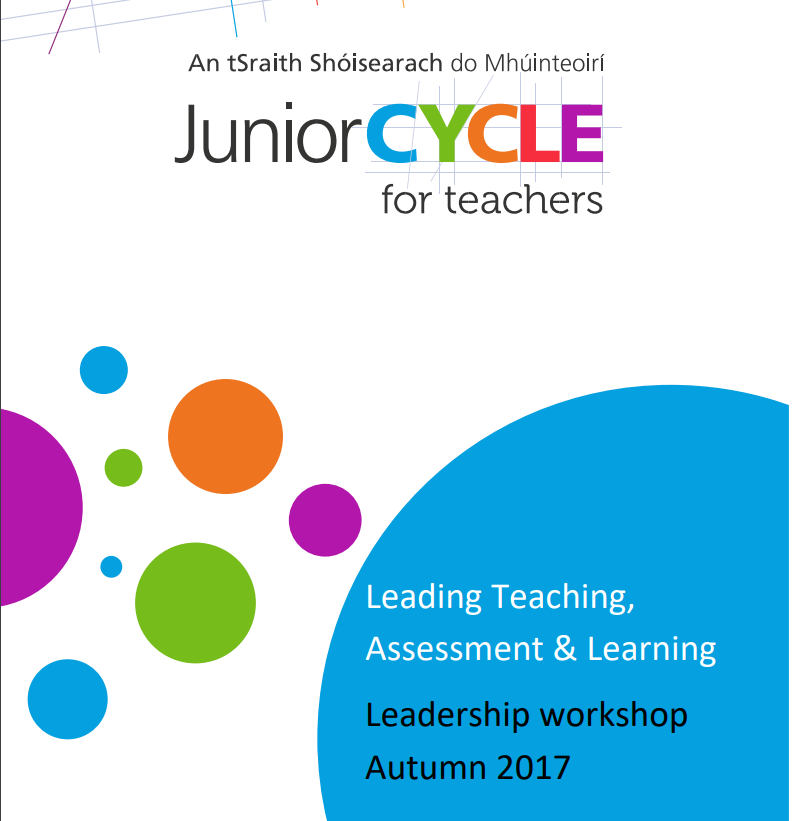 Leading Teaching, Assessment and Learning Log