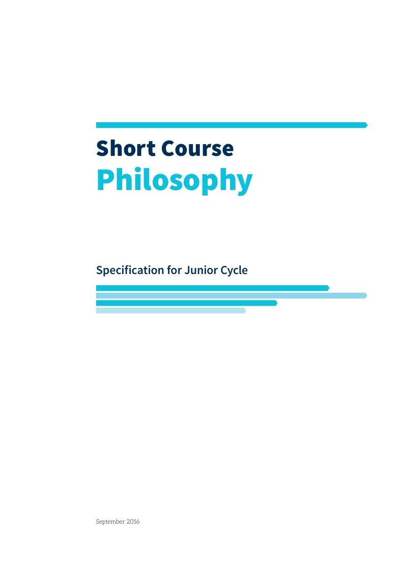 Philosophy Specification