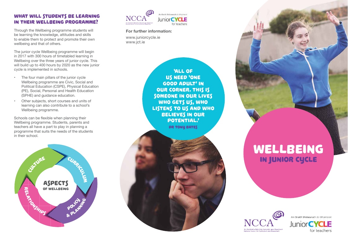 Wellbeing brochure