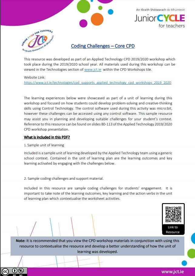 Coding Challenges - Core CPD